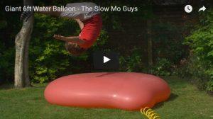 Filmpje Vrijdag 28 april: Waterballon XXL