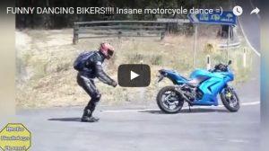 Filmpje Woensdag 3 mei: Dansende motorrijders