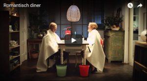 Filmpje Zaterdag 6 mei: Romantisch diner?