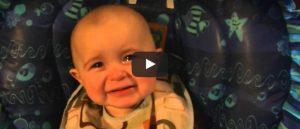 Filmpje Zaterdag 27 mei: Emotionele baby