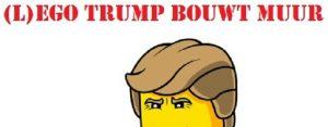 Woensdag 2 augustus Plaatje: L-ego Trump bouwt muur
