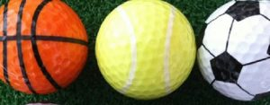 Donderdag 12 oktober Plaatje: Gekke golfballen