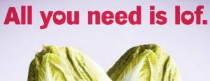 Woensdag 14 februari Plaatje: All you need is…