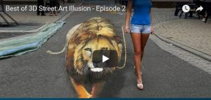 Maandag 19 februari Filmpje: 3D straatkunst