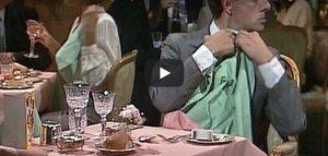 Donderdag 22 februari Filmpje: Mr. Bean in restaurant