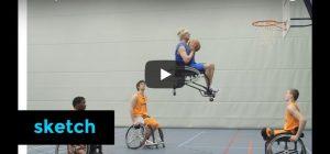 Zaterdag 10 maart Filmpje: Sportrolstoel 3000