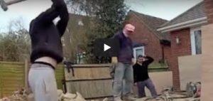 Vrijdag 16 maart Filmpje: Idioten op het werk