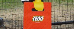 Zondag 1 juli Plaatje: Lego-tas