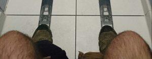 Woensdag 18 juli Plaatje: Skischans-wc-hokje