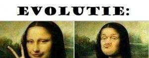 Vrijdag 19 oktober Plaatje: Monalisaevolutie