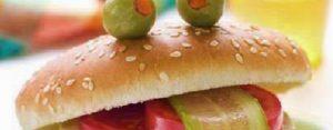 Zondag 3 maart Plaatje: Hamburgergezicht