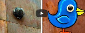 Woensdag 2 oktober Filmpje: Straatkunst voor en na