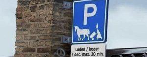 Maandag 11 november Plaatje: Parkeerregeling 5 december