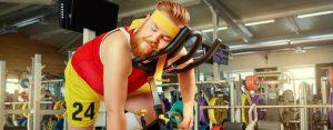 Zaterdag 7 maart Plaatje: Fijn fitnessapparaat
