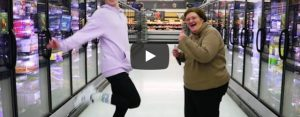 Donderdag 12 maart Filmpje: Dansen in de winkel
