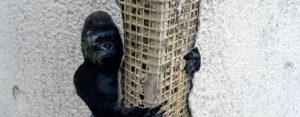 Vrijdag 3 april Plaatje: Straatkunst King Kong