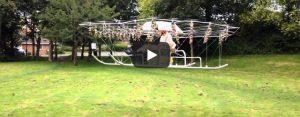 Woensdag 12 augustus Filmpje: Drone van heel veel drones