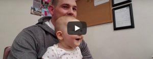 Donderdag 17 september Filmpje: Schattige baby-reactie